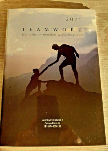 Monatsplaner 2021 Teamwork Kalender Abenteuer ist überall Timer Chefplaner