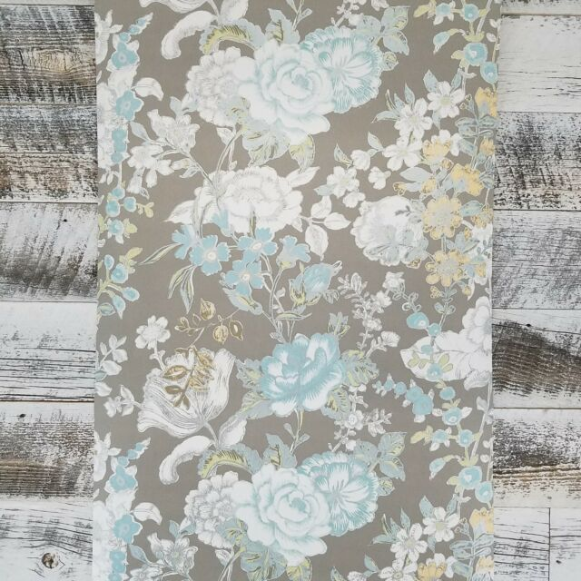 A Street Prints Kismet Ainsley Farmhouse Boho Grey Pink Mint