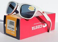 COSTA DEL MAR Copra 580P POLARIZED Sunglasses USA White/Gray LIMITED EDITION