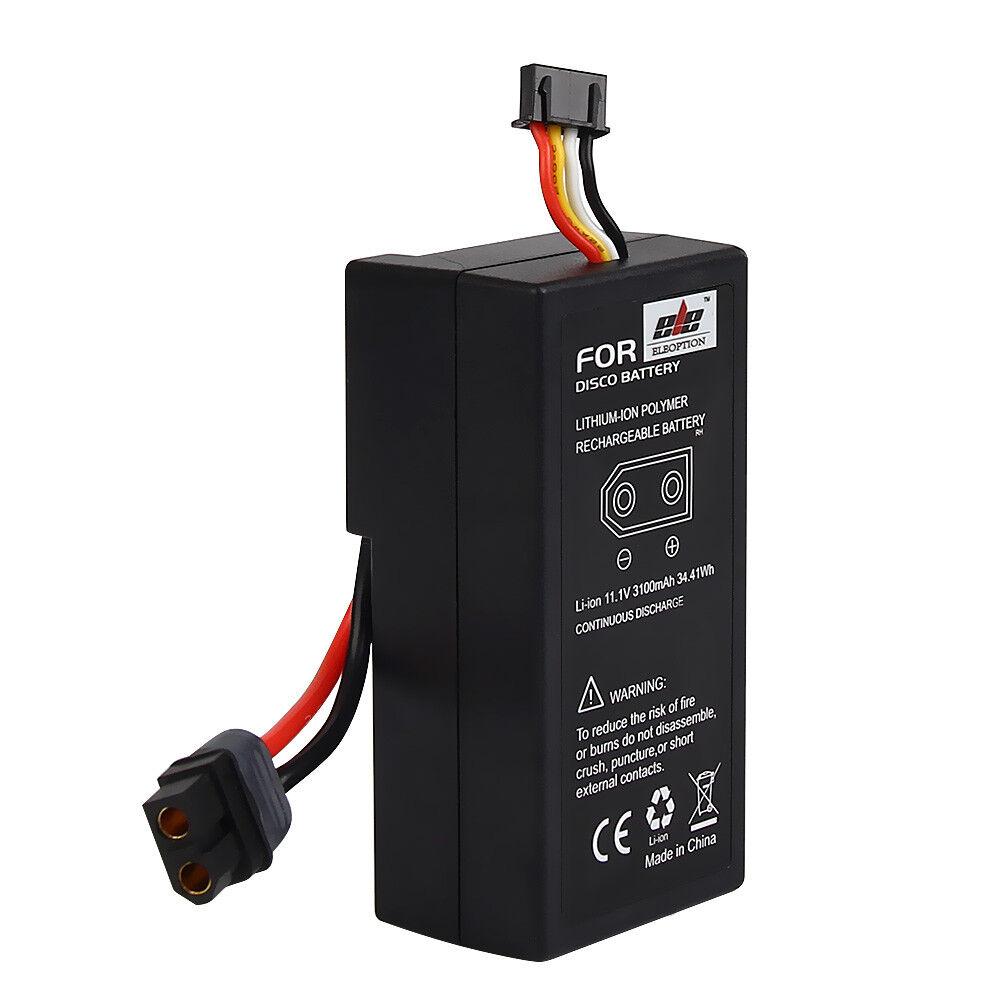 2Pcs 2Pcs 2Pcs 11.1V 3100mAh Capacittà Li-ion Rechargeable Battery for Parrosso Disco FPV 5a2eee