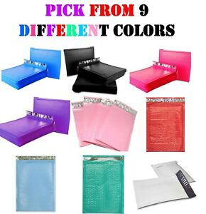 000-4x8-Colored-Poly-Bubble-Mailers-Envelopes-Shipping-Bags-Padded-Mailing-4x7
