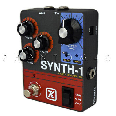 NEW Keeley Synth-1 Reverse Attack Fuzz Wave Generator Authorized Keeley Dealer