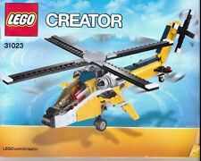 LEGO CREATOR 31023 HELICOPTER MANUAL ONLY NO BRICKS
