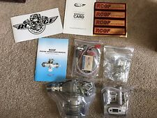 RCGF 35cc RE Rear exhaust & Rear carb r/c aircraft engine gasoline
