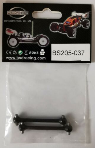 Details about  /BS205-037 BSD Red Cat part Rear Drive Shaft Set Scale 1//10