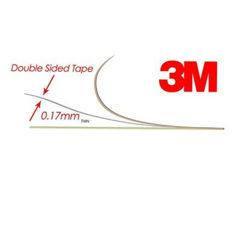 2 Rolls 20M*0.5cm Super Sticky 160u Heavy Duty Yellow Double Sided Adhesive Tape