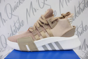 Details about WOMENS ADIDAS ORIGINALS EQT BASKETBALL ADV SZ 9 ASH PEARL WHITE GREY AC7352