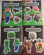 Minecraft Jinx Sticker Party Pack- 4 Sheets/ 17 Stickers