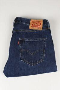 31564 Levi's Levi Strauss 501 Blau Herren Jeans Größe 34/32