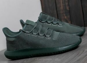 the latest acdd2 48ed9 Details about Adidas Originals Tubular Shadow Trace Green Men's 8 Athletic  Sneakers BY3573