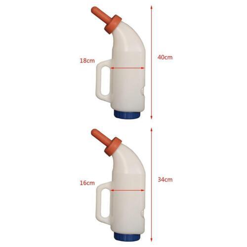 2L High Quality Plastic Calf Feeding Milk Bottle For Animal Cows