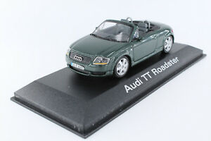 A-s-s-Minichamps-1-43-Audi-TT-Roadster-Green-Metallic-dealer-werbemodell-2000