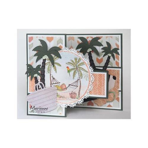Marianne Design Creatables Cutting Dies Palm Trees LR0541