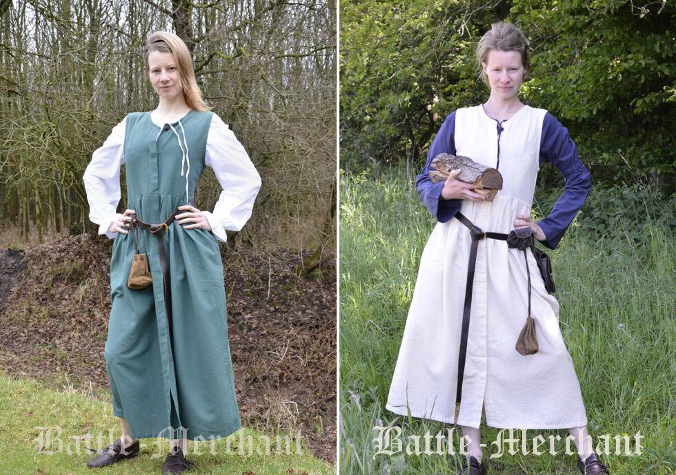 Battle Merchant Mittelalter Bauernkleid Mittelalterkleid Kleid LARP S-3XL  | Viele Stile  | Outlet Store  | Billig ideal  | Für Ihre Wahl  | Bestellung willkommen