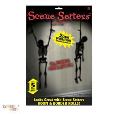 Halloween Party Hanging Skeletons Scene Setters
