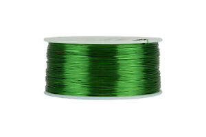 TEMCo-Magnet-Wire-27-AWG-Gauge-Enameled-Copper-155C-1lb-1570ft-Coil-Green