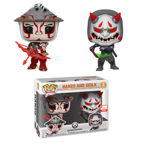 Overwatch  Hanzo and Genji (2pack) E3 2019 FUNKO POP VINYL FIGURE READY TO POST