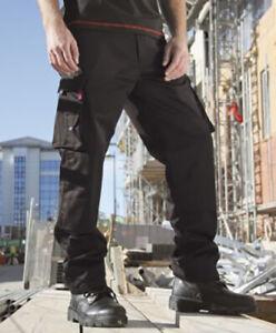 Blackrock Pentland Work Trousers Cargo Pants Knee Pad Pockets Teflon (BRPT)