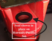 Lot Of 6-pacific Hornady 366 - 266 & Others - Powder Seals/shot Bushing Seals