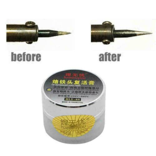 Soldering Iron Tip Refresher Clean Paste For Oxide Head Resurrection Solder W6R7