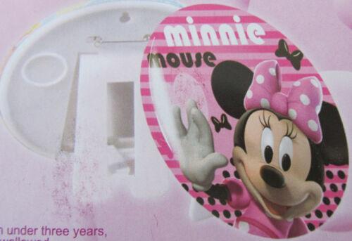 14 cm XL Minnie Maus ca OVP Disney Deko Bild Pin Mouse Button