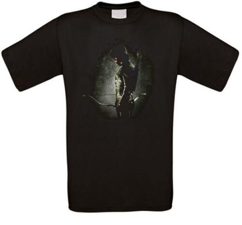 Arrow Oliver Queen starling city Kult Serie T-Shirt alle Größen NEU