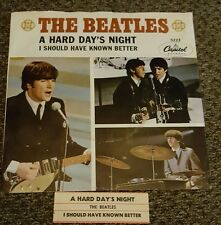 The Beatles A Hard Day's Night / I Should Have Known Better 5222 w/ sleeve