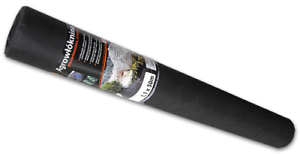 1,1 x 50 m-  50 Gramm/m2 schwarz - Anzucht - Pflanzen - Vlies - Agro - Mulch