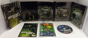Gioco-Game-Computer-PC-CD-ROM-ITALIANO-Cartonato-Tom-Clancy-039-s-SPLINTER-CELL