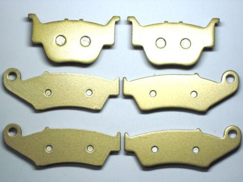 Front Rear Brake Pads For Honda TRX 450 R 2004 2005 2006 2007 2008 2009 Brakes