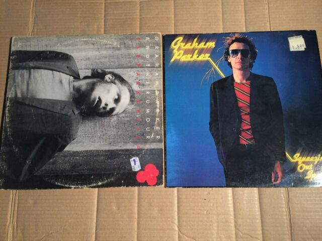 GRAHAM PARKER AND THE RUMOUR - PARKERILLA + SQUEEZING OUT SPARKS - 3 LP