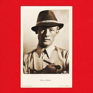 Ansichtskarte-Klaus-Holm-Film-Foto-Verlag-A-3932-1-Tobis-Star-Film-Atelier