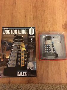 Eaglemoss-Doctor-Who-Figurine-Collection-Rare-Dalek-3-Saucer-Commander-Dalek