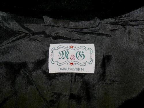 de des 10 costume M brunes d'hiver femmes de laine allemand Veste 8 741587275992 habillée aqEn0