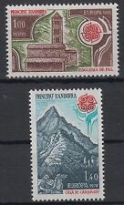 Cept Jahrgang 1978 Andorra (fr.) 290/91 postfrisch .............................