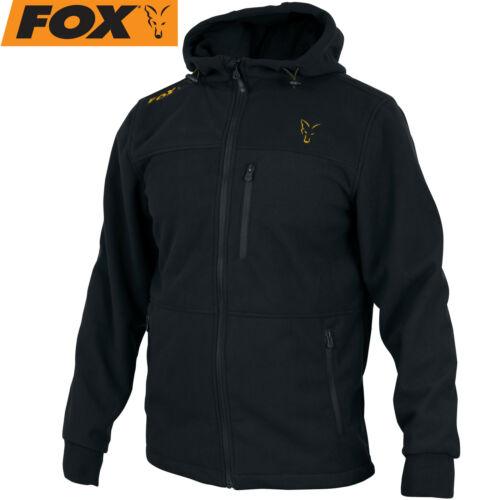 Orange Windblocker Angeljacke Fox Collection Black Outdoorjacke für Angler