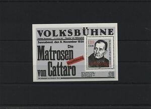 Germany-GDR-DDR-R-d-a-Vintage-1988-Mi-Bloc-96-Neuf-MNH-Plus-Sh-Boutique
