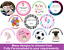 Personalised-Edible-Cake-Toppers-Rice-Paper-Wafer-Your-Own-Image-Photo-Cup thumbnail 1