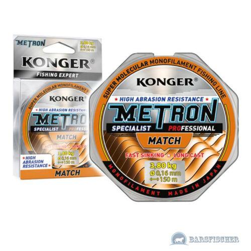 150m Fil de pêche Kong Métron specialist par match Line monofils Fil de pêche