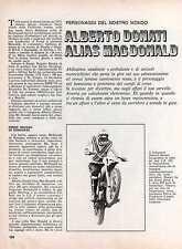 Z12 Ritaglio Clipping del 1973 Alberto Donati alias Mac Donald