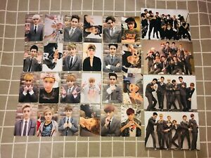 Exo Official Growl China Press Photocard Sehun D O Kai Chanyeol Lay Suho Xiumin Ebay