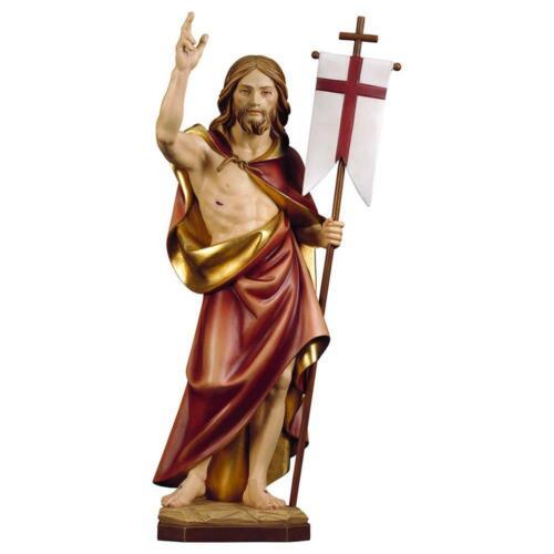 12cm Design Echtholz Auferstehung Christi Heiligenfigur Color 9549001004