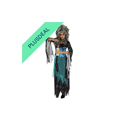 Wahrsagerinkostüm Wahrsagerin Kostüm Geist Hexe Halloween Damenkostüm Gr. S - XX