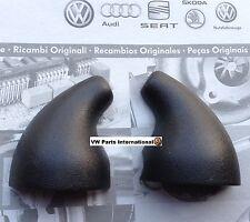 VW Golf MK4 GTI R32 Anni Black Rear View Mirror Base Caps Genuine New OEM VW ...