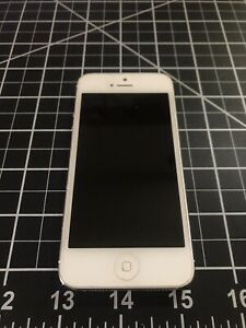 Apple-iPhone-5-Great-Condition-32-GB-White-Silver-Unlocked-Pre-Owned