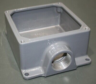 """Hubbell Electrical 112 3-1//4/"""" Octagon Box with Cable Clamps"""