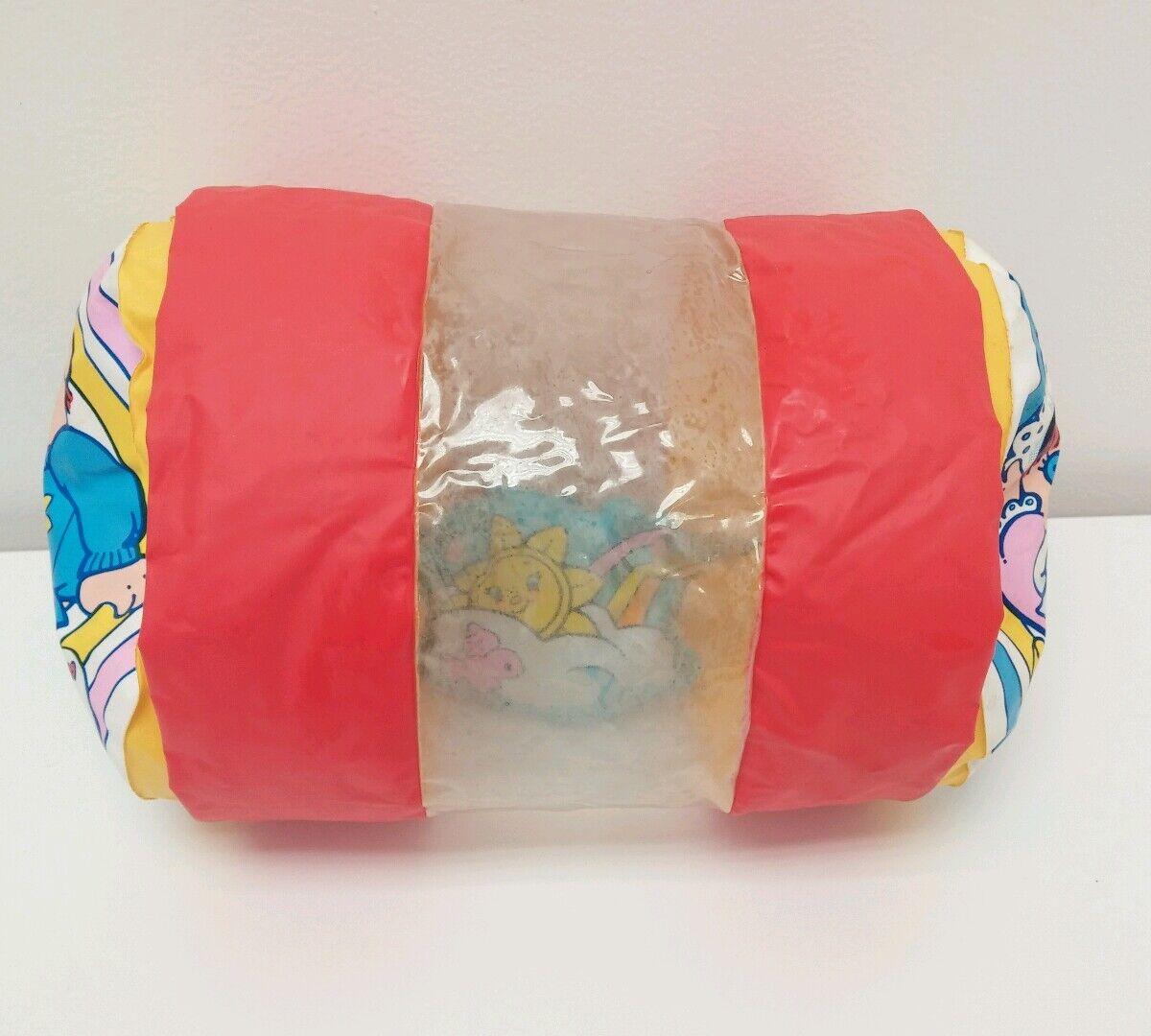 Vintage 1988 Shelcore Inflatable Vinyl Shelykins Baby Barrel Peek in Roll Toy