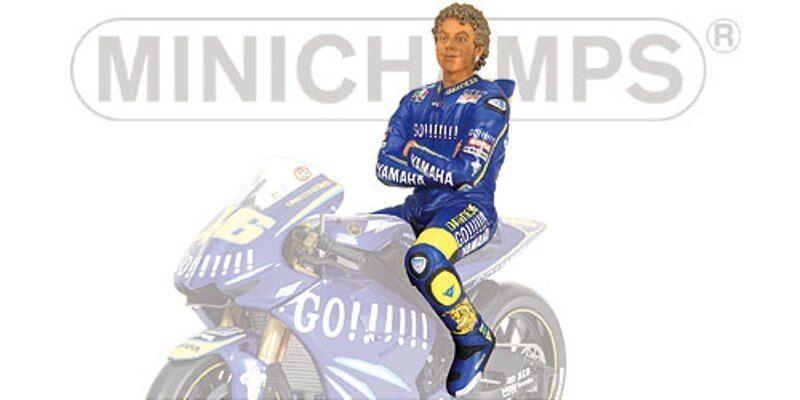 Minichamps 312 040046 312 040246 312 049046 V Rossi Figuritas Figuritas Figuritas Yamaha 2004 1 12 6251f4