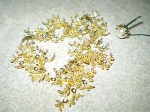 Perlkappen-in-gold-14-mm-40-Stueck