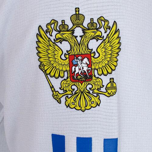 adidas Herren 1//2 Zip Stand Up Shirt Team Russia Longsleeve Skipullover  NEU